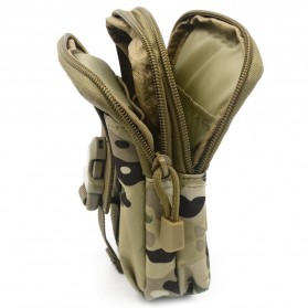 Tas Pinggang Crossbody Waistbag Tactical Army Camouflage - ZSXD001 - Army Green - 6