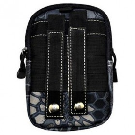 Deanfun Tas Pinggang Tactical Camouflage - ZSXD001 - Black White - 2
