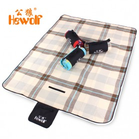 ... Hewolf Tikar Piknik Lipat Waterproof - Coffee - 1 ...