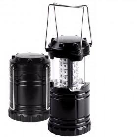 Lampu Lentera Camping Lantern 30 LED Water Resistant - GY18 - Black