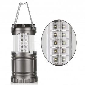 Lampu Lentera Camping Lantern 30 LED Water Resistant - GY18 - Black - 2