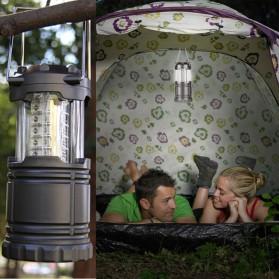 Lampu Lentera Camping Lantern 30 LED Water Resistant - GY18 - Black - 6