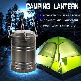 Lampu Lentera Camping Lantern 30 LED Water Resistant - GY18 - Black - 7