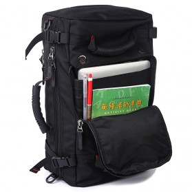 Felerte Tas Travel Backpack Waterproof 40L - Black