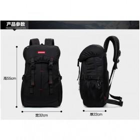 REEDARK Tas Gunung Outdoor Waterproof - NH15Y001-Z - Black - 8