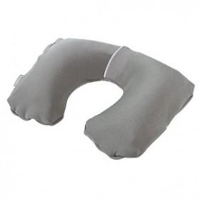 Bantal Leher Inflatable - Gray