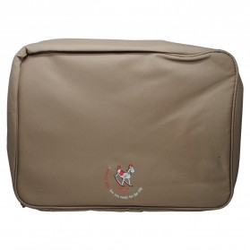 Tas Travel Bag in Bag Organizer Pakaian Polyester - Brown