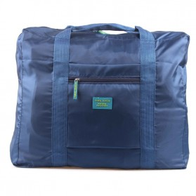 Tas Travel Lipat Gantungan Koper - Navy Blue