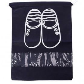 Tas Sepatu Travel - Dark Blue