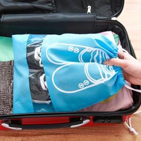 Tas Sepatu Travel - Dark Blue - 3