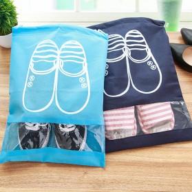 Tas Sepatu Travel - Dark Blue - 5