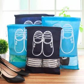 Tas Sepatu Travel - Dark Blue - 6