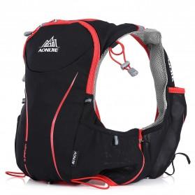 Aonijie Tas Olahraga 5L dengan Hydration Slot 1.5L Size S/M - Black - 2