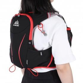 Aonijie Tas Olahraga 5L dengan Hydration Slot 1.5L Size S/M - Black - 5