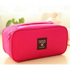 Tas Travel Bag in Bag Organizer Multifungsi - Rose