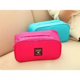 Tas Travel Bag in Bag Organizer Multifungsi - Rose - 2