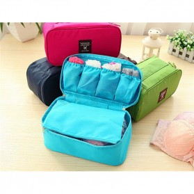Tas Travel Bag in Bag Organizer Multifungsi - Rose - 3