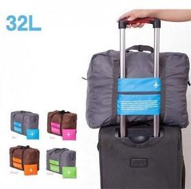 Tas Travel Lipat Gantungan Koper Waterproof 32L - SW1014 - Blue - 2