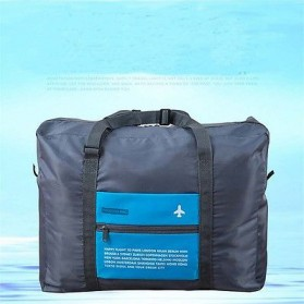 Tas Travel Lipat Gantungan Koper Waterproof 32L - SW1014 - Blue - 6