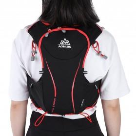 Aonijie Tas Olahraga 5L dengan Hydration Slot 1.5L Size L/XL - Black - 5