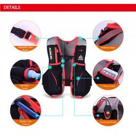 Aonijie Tas Olahraga 5L dengan Hydration Slot 1.5L Size L/XL - Black - 8