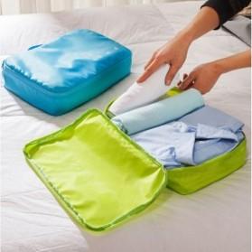 Tas Travel Bag in Bag Organizer Pakaian 7 in 1 - Blue - 2