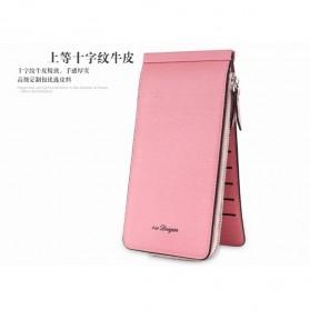 Dompet Kartu Model Panjang - Pink - 3