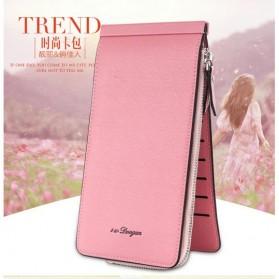 Dompet Kartu Model Panjang - Pink - 4