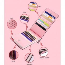 Dompet Kartu Model Panjang - Pink - 5