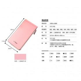 Dompet Kartu Model Panjang - Pink - 7