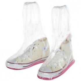 Safebet Cover Hujan Sepatu Size M 37-39 - YXT01 - Transparent