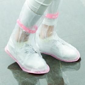 Safebet Cover Hujan Sepatu Size M 37-39 - YXT01 - Transparent - 2