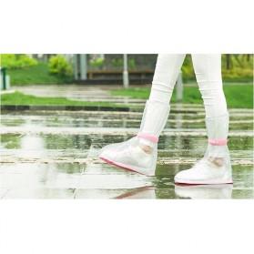 Safebet Cover Hujan Sepatu Size M 37-39 - YXT01 - Transparent - 4
