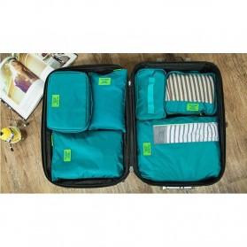 Fun&Young Tas Travel Bag in Bag Organizer 7 in 1 - Lake Blue - 2