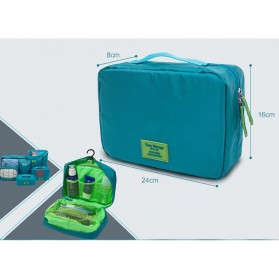 Fun&Young Tas Travel Bag in Bag Organizer 7 in 1 - Lake Blue - 5
