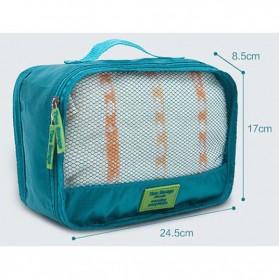 Fun&Young Tas Travel Bag in Bag Organizer 7 in 1 - Lake Blue - 6
