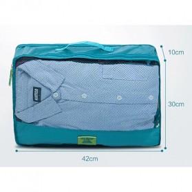 Fun&Young Tas Travel Bag in Bag Organizer 7 in 1 - Lake Blue - 7