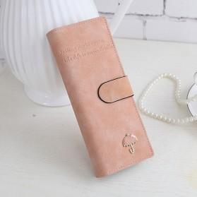 Dompet Kartu Wanita 55 Card - Pink