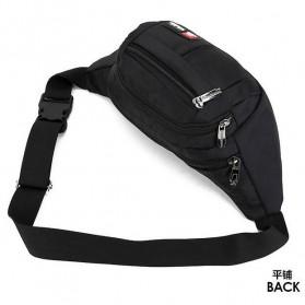 LSKK Tas Pinggang Travel Waistbag - 311 - Black - 9