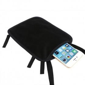Hidden Travel Pouch Anti RFID - J2Y - Black - 8