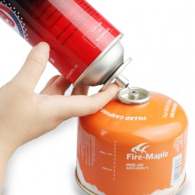 Adapter Refill Tabung Gas Butane - TL-SA001B - Silver - 3