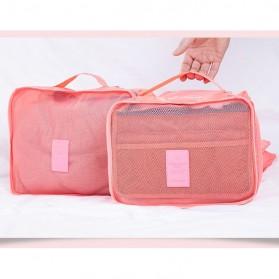 Tas Travel Bag in Bag Organizer 6 in 1 - Navy Blue - 7