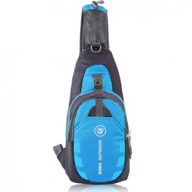 JINHUODA Outdoor Tas Selempang Outdoor Crossbody Bag - WYK16 - Blue