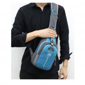 JINHUODA Outdoor Tas Selempang Outdoor Crossbody Bag - WYK16 - Blue - 8