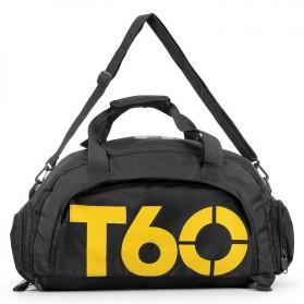 Tas Ransel dan Duffel Gym Bag - T60 - Black - 2