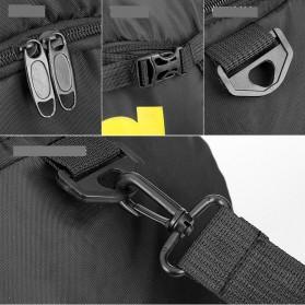 Tas Ransel dan Duffel Gym Bag - T60 - Black - 6