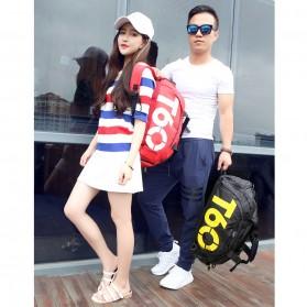 Tas Ransel dan Duffel Gym Bag - T60 - Black - 9