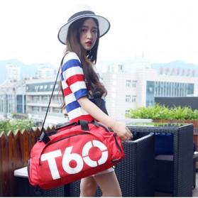 Tas Ransel dan Duffel Gym Bag - T60 - Red - 3