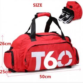 Tas Ransel dan Duffel Gym Bag - T60 - Red - 4