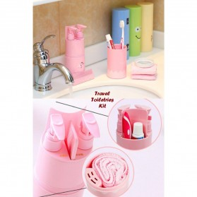 Travel Toiletries Kit - Pink - 4